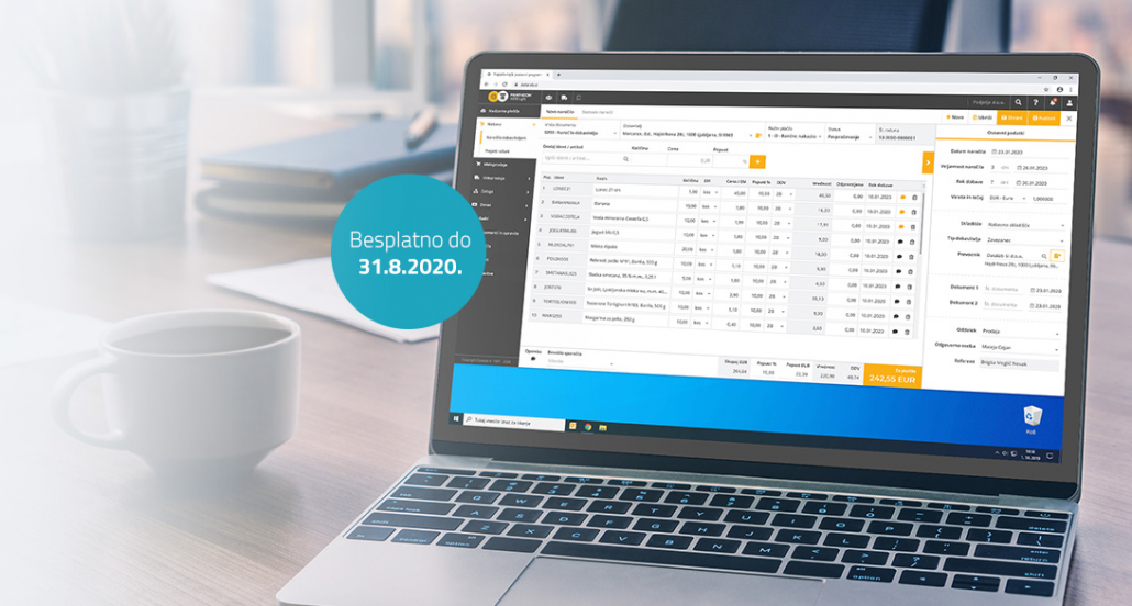 PANTHEON Web Light – online program za mala preduzeća